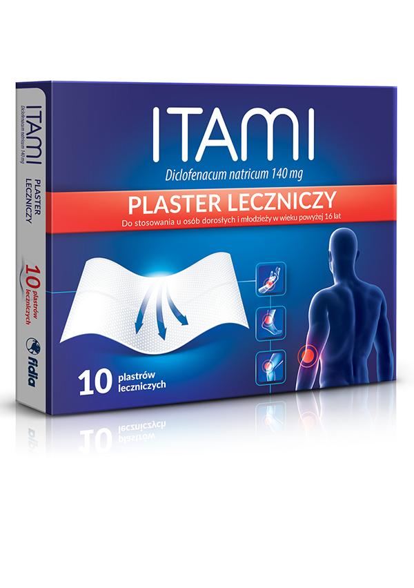 ITAMI, PLASTER LECZNICZY 10 SZTUK